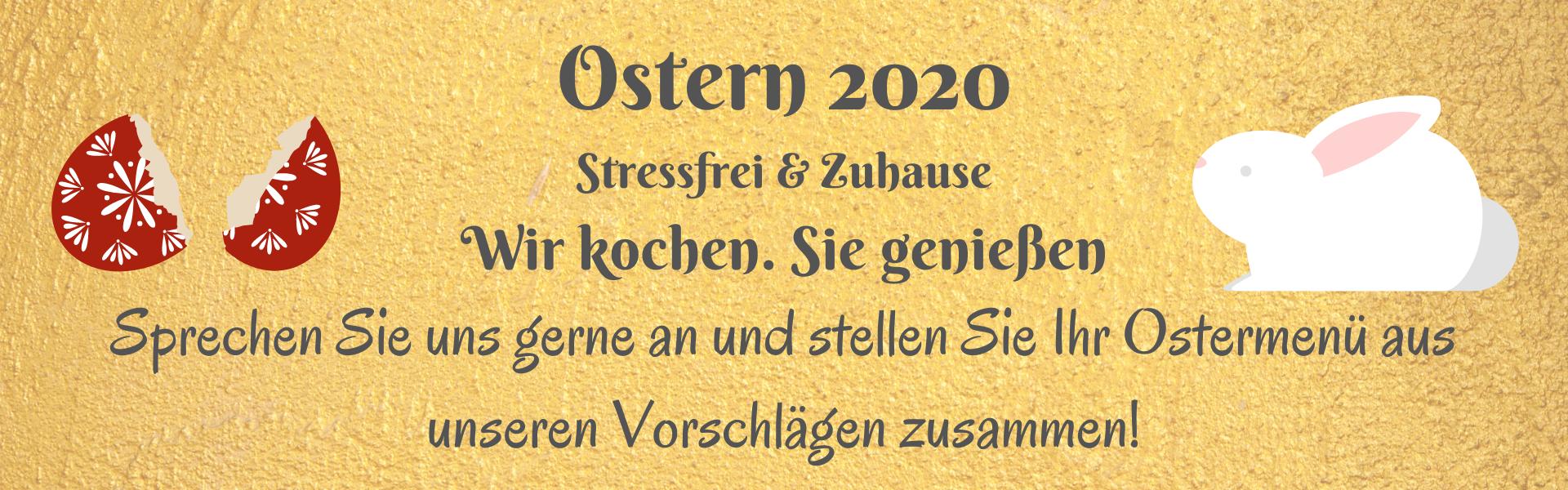 besonderes Ostermenü 2020 ristorante Lucchese ankum